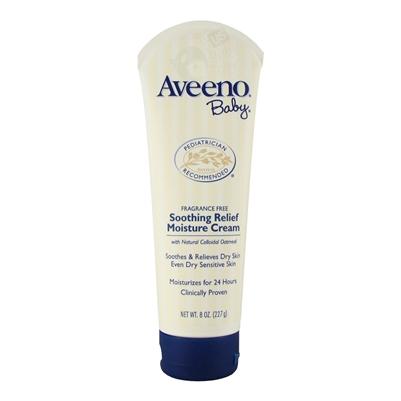 Baby Soothing Relief Moisture Cream 8 Oz Aveeno