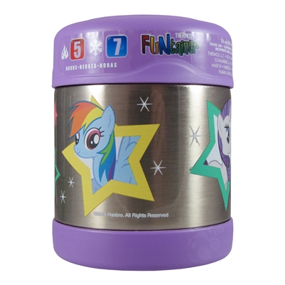 Funtainer Food Jar My Little Pony 10 Oz Thermos