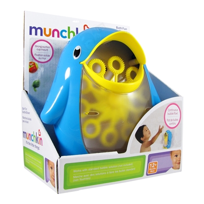 Bath Fun Bubble Blower Munchkin