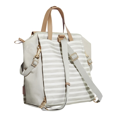 Highline Collection Convertible Backpack Oyster Stripe