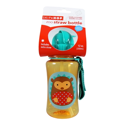 Zoo Straw Bottle Hedgehog Skip Hop