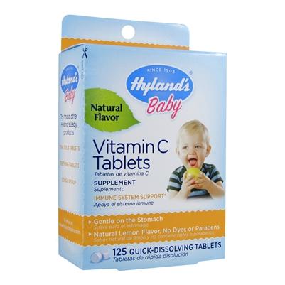 Baby Vitamin C Tablets 125 Tab Hyland S